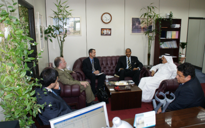 US. Civilian Research & Development Foundation (CRDF) visited the Office of the Vice President for Research at Kuwait University
