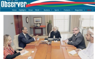 MUSCAT: Dr Rawya bint Saud al Busaidiyah, Minister of Higher Education, on Wednesday received a delegation from the American Association for the Advancement of Science (AAAS) which includes Albert Beckford Jones, Special Advisor to AAAS and Charles Dunlap, Director of the Research Competitiveness Programme at AAAS.